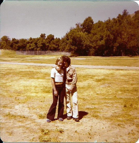 Sheri Bartlett and Jim Dicker Sr. Miller Creek Jr High 1976